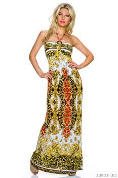 34//36//38 KLEID Neckholder-Kleid Strandkleid Sommerkleid Tunika Gr