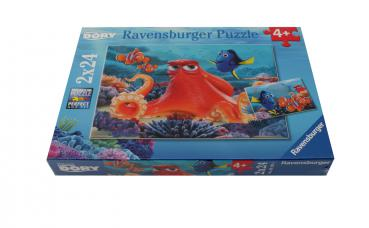 Ravensburger Puzzle Finding Dory 2x24 Teile 091034