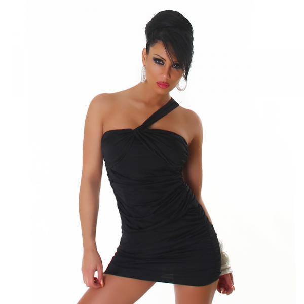 sexy GoGo Kleid Minikleid Cocktailkleid Party Dress schwarz 34 / 36